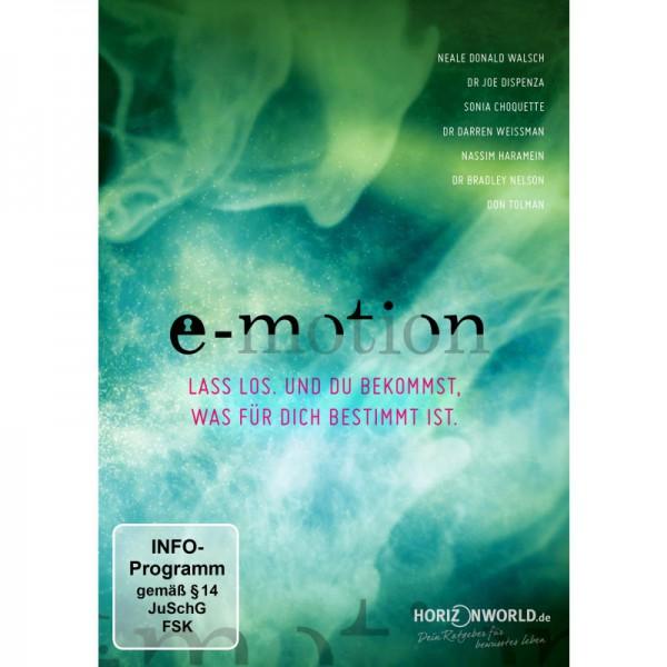 e-motion - Lass los. und du bekommst, was für dich bestimmt ist