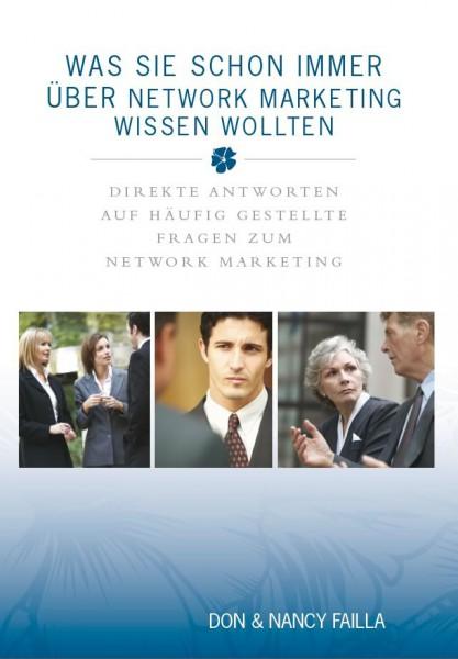 Was Sie schon immer über Network Marketing wissen wollten
