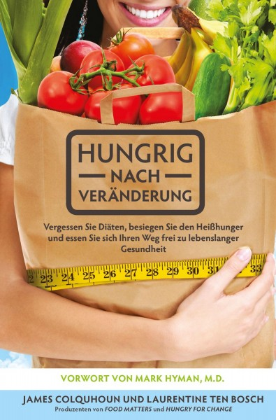 Hungrig nach Veränderung das Buch - Cover