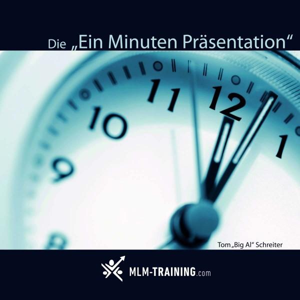 Die Ein Minuten Präsentation